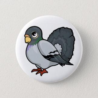 Pigeon Design 6 Cm Round Badge