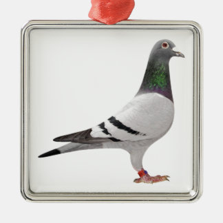 pigeon design christmas ornament