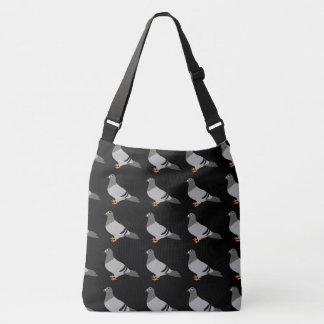 Pigeon Design Crossbody Bag