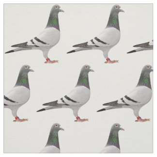 pigeon design fabric