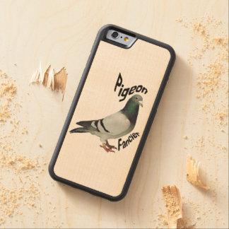 Pigeon Fancier Wood Phone Case Maple iPhone 6 Bumper