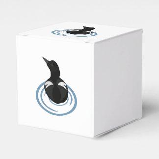 Pigeon Guillemot Vector Art Favor Box