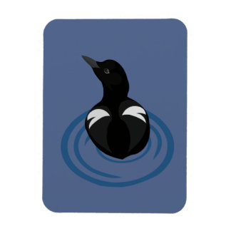 Pigeon Guillemot Vector Art Flexible Magnet