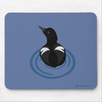 Pigeon Guillemot Vector Art Mousepad
