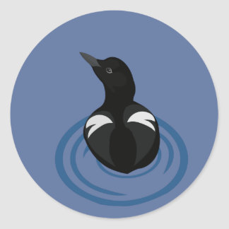 Pigeon Guillemot Vector Art Stickers