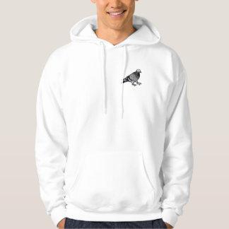 pigeon jumper hoodie