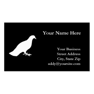 Pigeon Pack Of Standard Business Cards