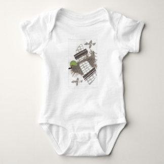 Pigeon Plane Babygro Baby Bodysuit
