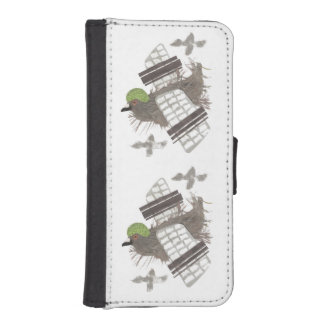 Pigeon Plane I-Phone 5/5s Wallet Case