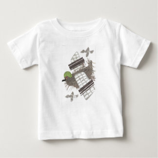 Pigeon Plane No Background Baby's T-Shirt