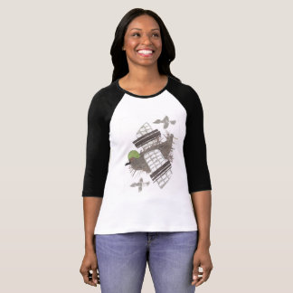 Pigeon Plane No Background Women's Top