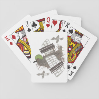 Pigeon Plane Playing Cards