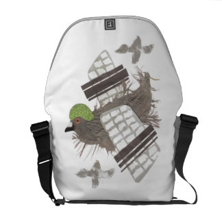 Pigeon Plane Rusksack Courier Bags