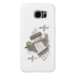 Pigeon Plane Samsung Galaxy S6 Case