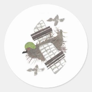 Pigeon Plane Stickers