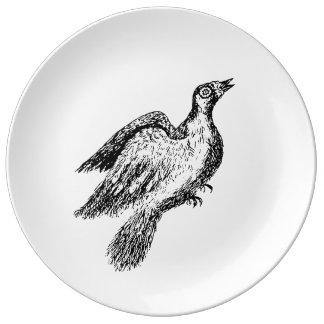 Pigeon Plate Porcelain Plates