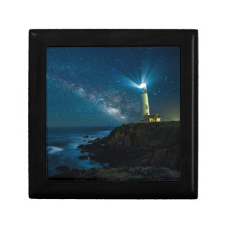 Pigeon Point Light Station, Ca Small Square Gift Box