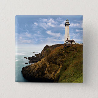 Pigeon Point Lighthouse | California 15 Cm Square Badge