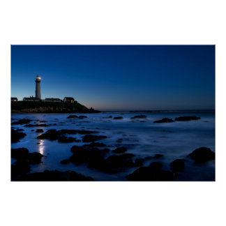 Pigeon Point Lighthouse | Half Moon Bay, Ca Poster
