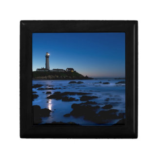 Pigeon Point Lighthouse | Half Moon Bay, Ca Small Square Gift Box