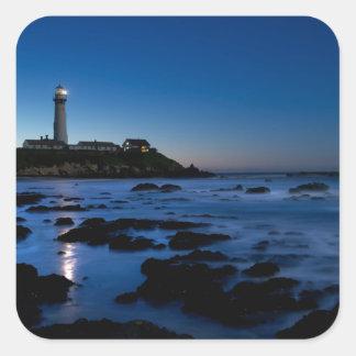 Pigeon Point Lighthouse | Half Moon Bay, Ca Square Sticker