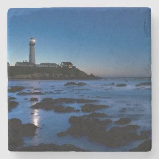 Pigeon Point Lighthouse | Half Moon Bay, Ca Stone Coaster