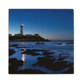 Pigeon Point Lighthouse | Half Moon Bay, Ca Wood Coaster