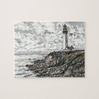 Pigeon Point Lighthouse Jigsaw Puzzle