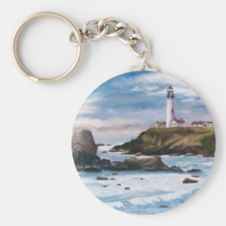 Pigeon Point Lighthouse Keychain