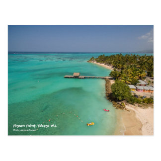 Pigeon Point Tobago Postcard