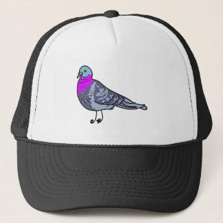pigeon trucker hat