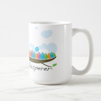 Pigeon Whisperer white ceramic mug