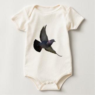 Pigeons Baby Bodysuit