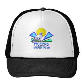 Pigeons Brighten the Day Trucker Hat
