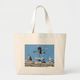 pigeons canvas bags
