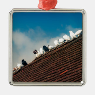 Pigeons Christmas Ornament