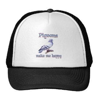 Pigeons Make Me Happy Cap
