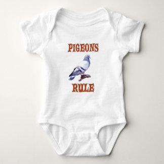 Pigeons Rule Baby Bodysuit