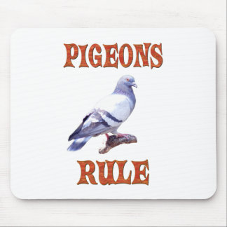 Pigeons Rule Mouse Pad