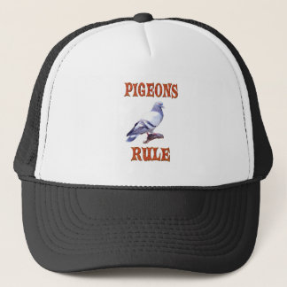 Pigeons Rule Trucker Hat