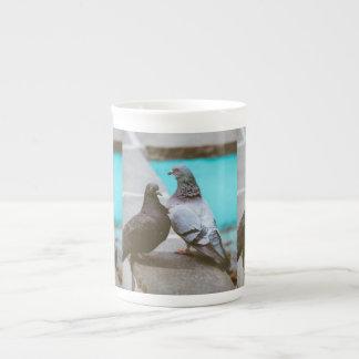 Pigeons Bone China Mug
