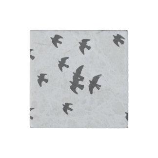 pigeons stone magnet