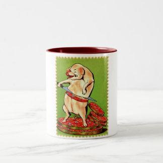 Piggie Loves Bacon Coffee Mug