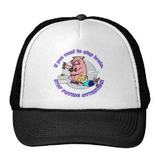 Piggie Thief Cap