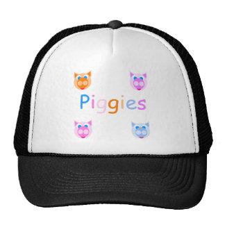 piggies mesh hats