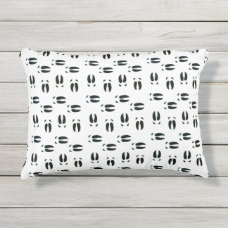 Piggin' Tracks Outdoor Accent Pillow
