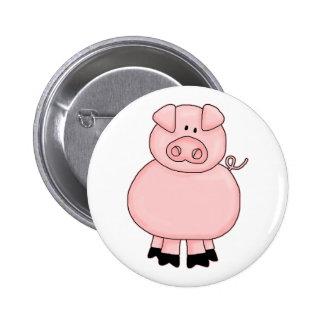 Piggy 6 Cm Round Badge