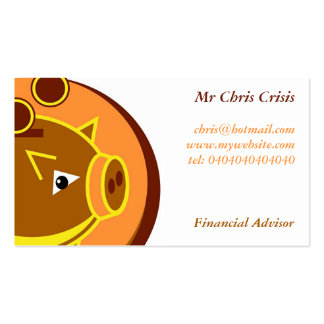 Piggy Bank Business Cards