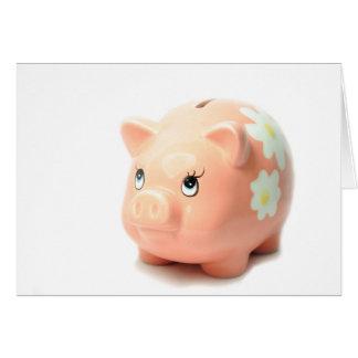 Piggy-bank Card