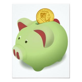 Piggy Bank Invitations